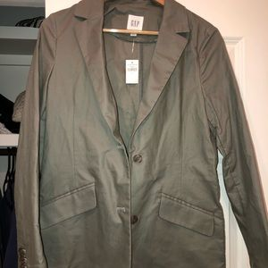 Gap army green blazer